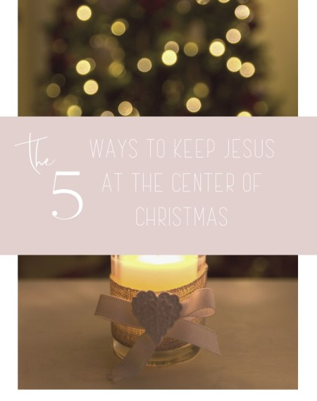 Keep Jesus in Christmas