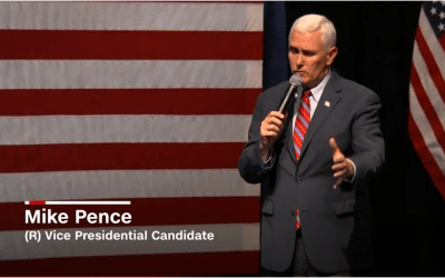 Revolution coming, Pence supporter says