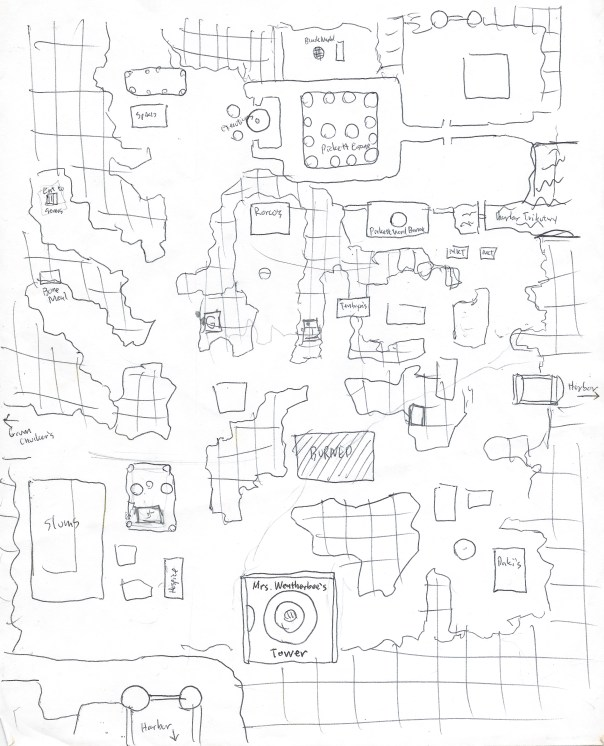Ahoo Goodfinder's (not great) map of Pickett's Ward