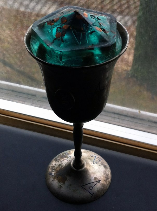Water Cup with Orgonite lid