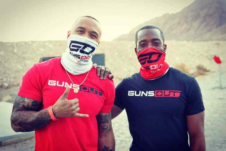 Keys and Singleton in Guns Out merchandise