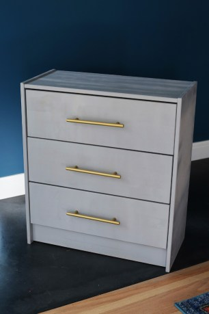 Finished IKEA Nightstand