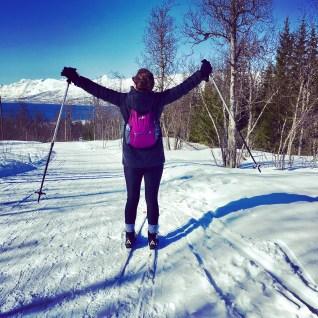 Sunshine and XC skiing!