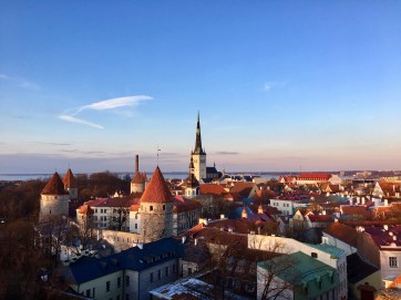Views from the top of the Old Town