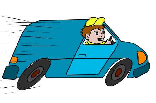 delivery-truck-toon-removal-man-van