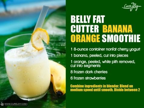 Banana-Peach-For-Heart-Health