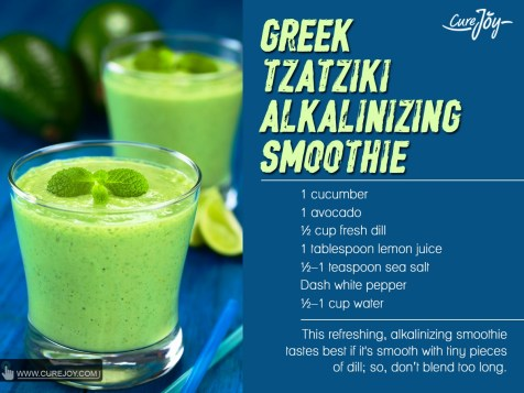 Greek Tzatziki Alkalinising Smoothie