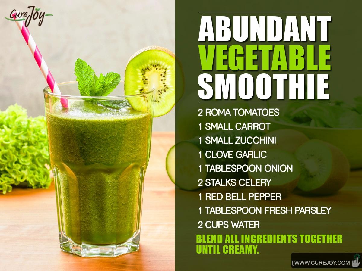 Abundant Vegetable-Smoothie