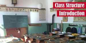 Class Structure Introduction in Java