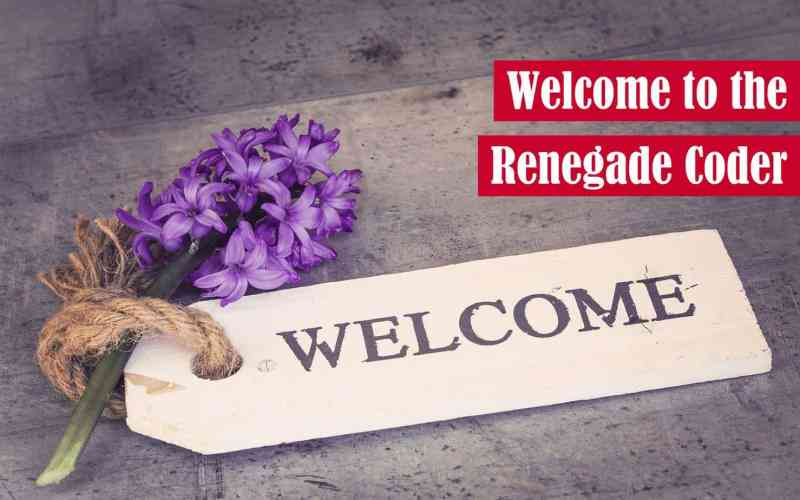 Welcome to the Renegade Coder Featured Image