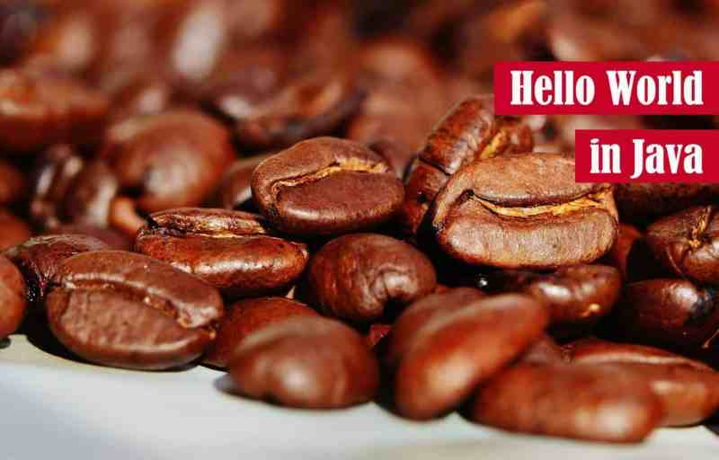 Hello World in Java Featured Image