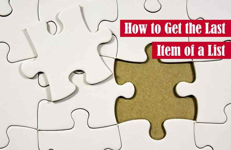 How to Get the Last Item of a List in Python Featured Image