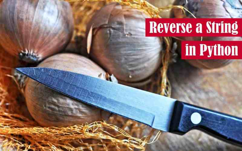 Reverse a String in Python Featured Image