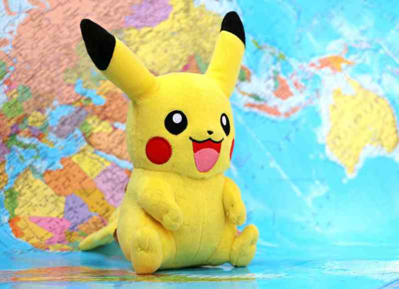 Derpy Pikachu and Map