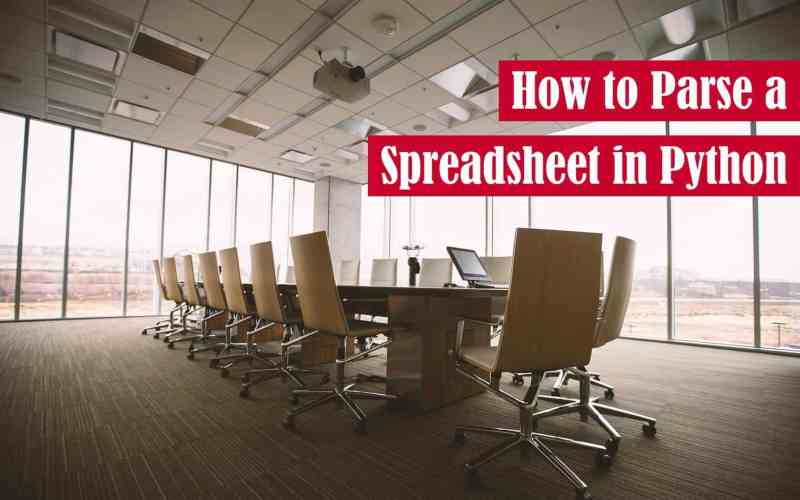 How to Parse a Spreadsheet in Python Featured Image
