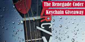 The Renegade Coder Keychain Giveaway Featured Image