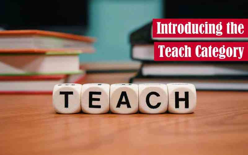 Introducing the Teach Category Featured Image