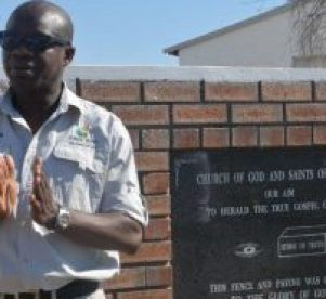 Tsepo Moerance of 045.Com Tours and Events during the CHDM guided tour of the Chris Hani Liberation Heritage route  Picture: ZOLILE MENZELWA