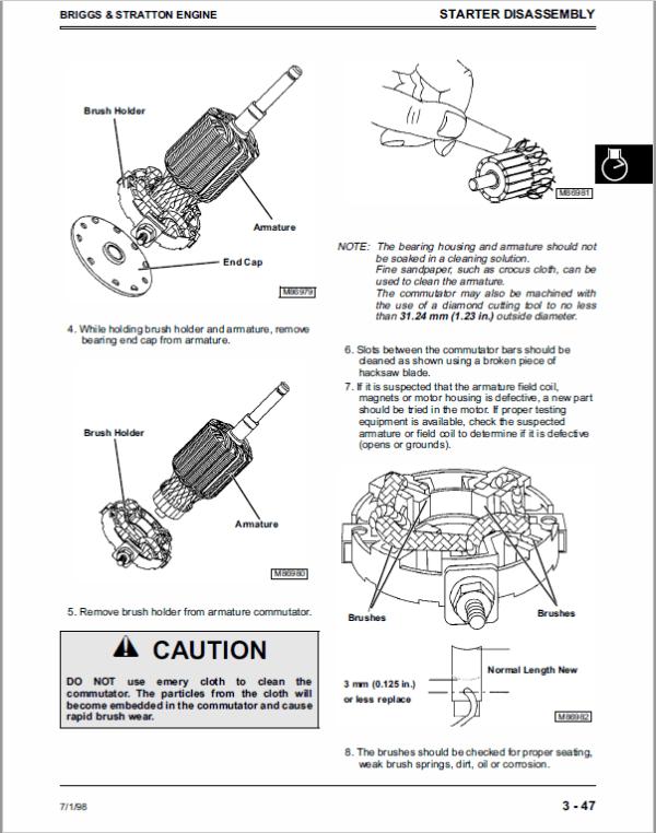 John Deere Sabre Owners Manual / John Deere Sabre Yard