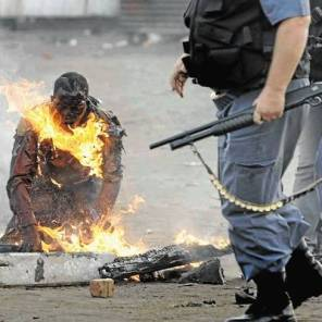 Xenophobic attacks in South Africa