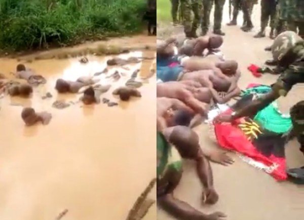 Soldiers-IPOBmembers in Aba1