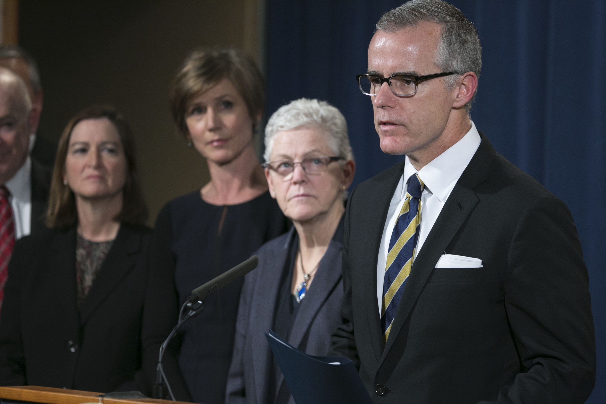 McCabe Steps Down After Vile Trump Attacks