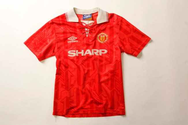 Image result for united 1992 shirt