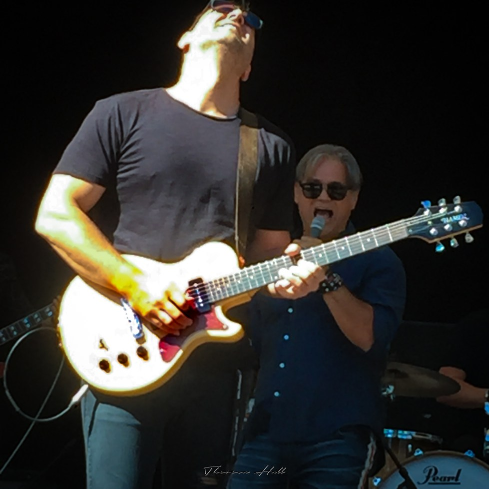 Jon Stevens at Red Hot Summer Tour, Canberra, 24 February 2019