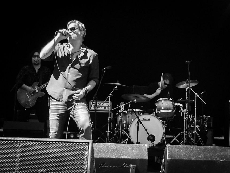 Jon Stevens at Red Hot Summer Tour, Canberra, 24 February 2019