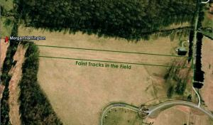 """The """"tracks in the field"""" theory"""