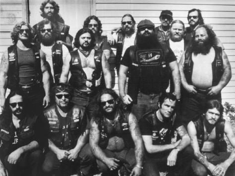 Members of the Laval Hells Chapter