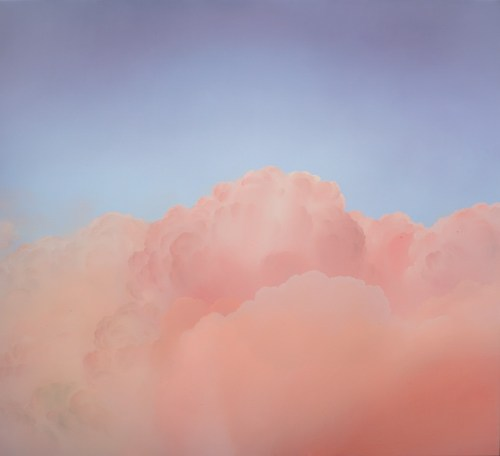 Ian Fisher **Atmosphere No. 58 (The Pink Nude),** 2014 courtesy the artist
