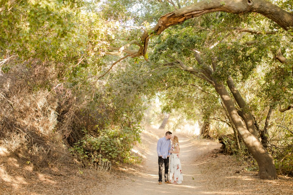 Romantic Engagement Session Santiago Oaks Regional Park