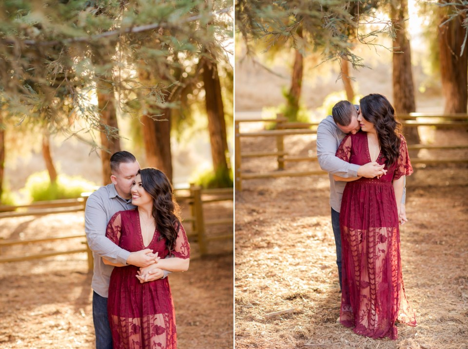 Carbon Canyon Engagement Session Photo