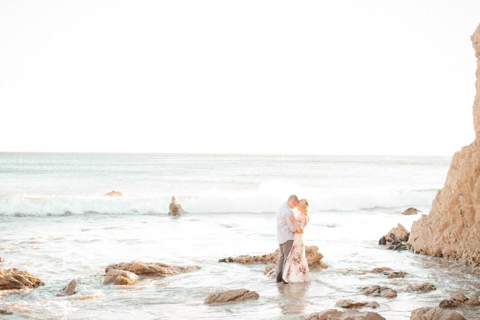 El Matador Beach Engagement 1