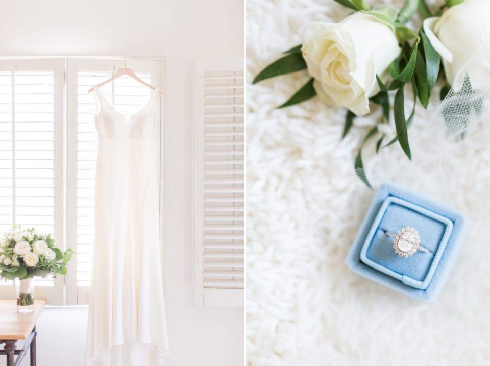 BHLDN Wedding Dress Colorado Wedding Photographer