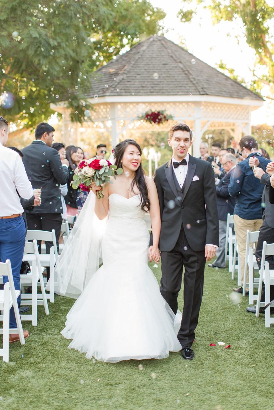 Fall Wedding at Heritage Museum Orange County