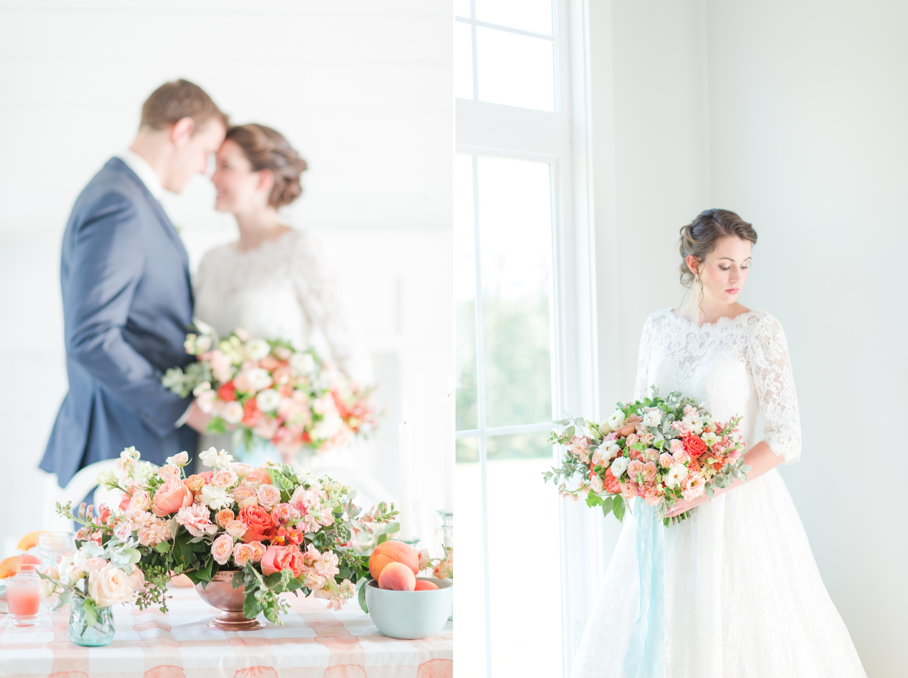 69522e4beb Mint and Peach Summer Inspired Wedding 14
