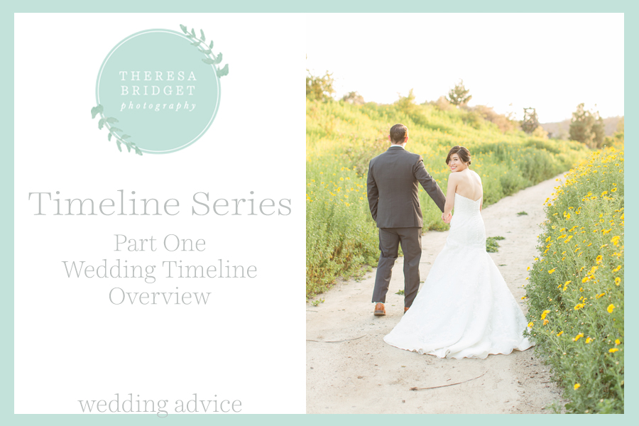 Colorado Wedding Timeline