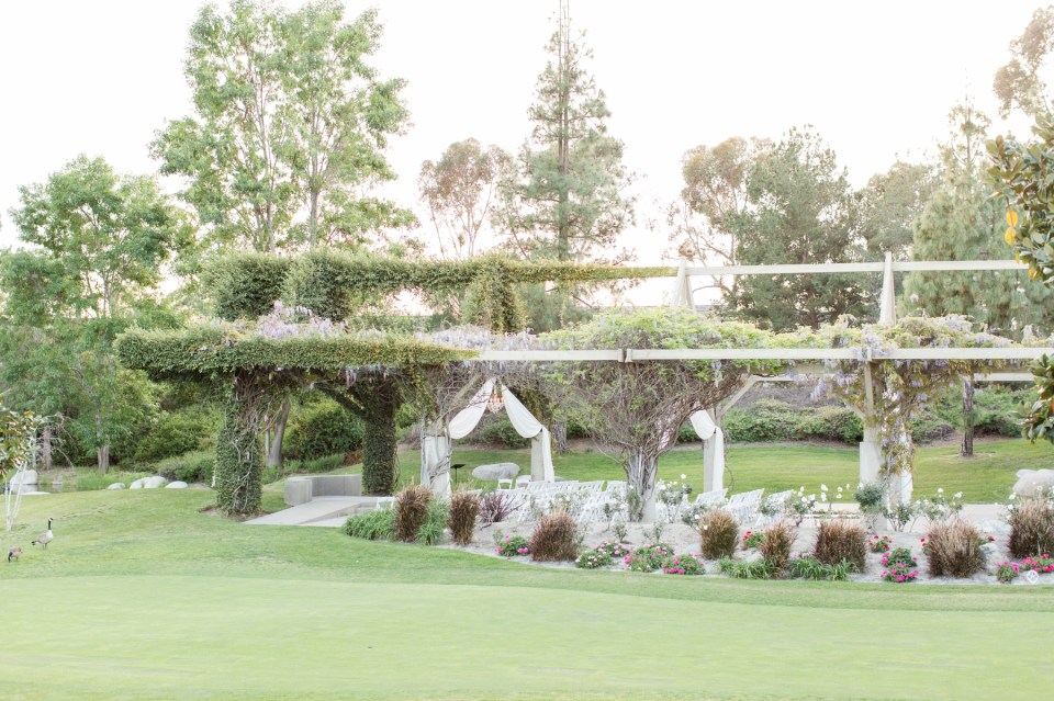 Outdoor Ceremony Coyote Hills Golf Course Wedding