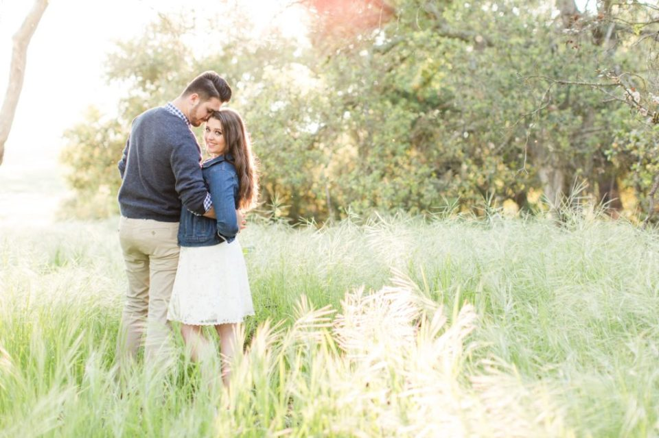 Thomas F Rylie Wilderness Park destination engagement session in Souther California.