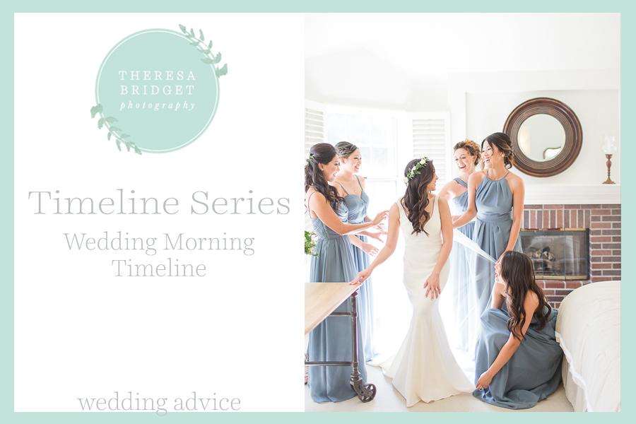 Wedding Morning Timeline