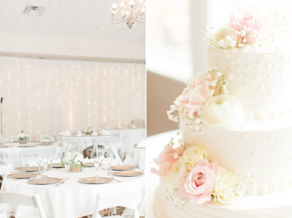 Wedgewood Ken Caryl wedding venue in Littleton Colorado. Reception set up ideas for a romantic spring wedding.