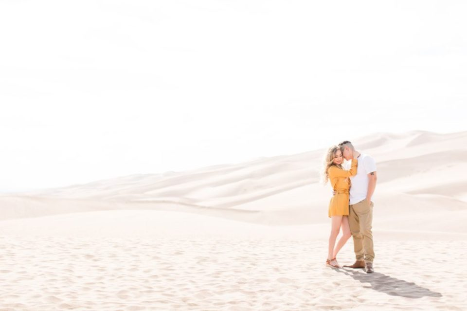 Colorado Great Sand Dunes National Park Engagement Session.