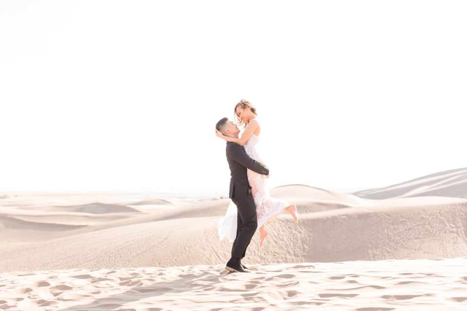 Great Sand Dunes National Park elopement photography