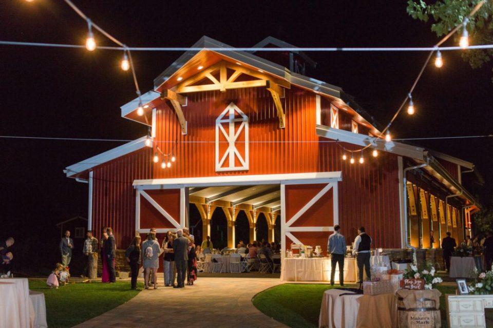 Colorado barn wedding venue in South Denver.