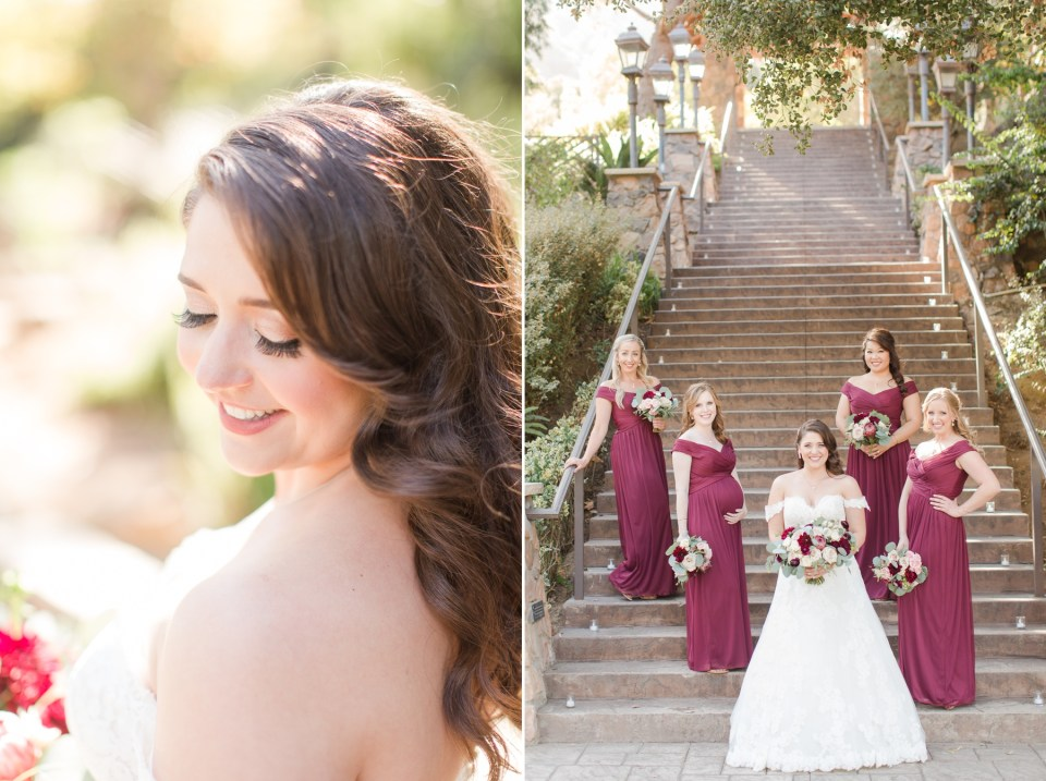 Fall wedding at Pala Mesa Resort in Fallbrook California