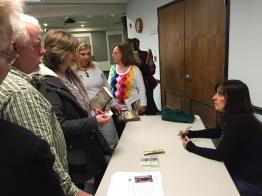 Book Talk at Sayville Public Library 2
