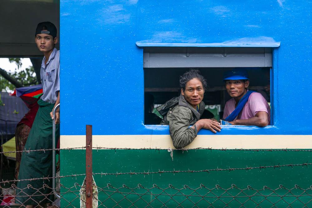 Fleeting Moment - Yangon