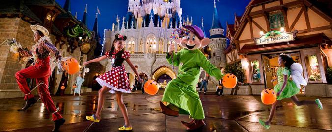 Halloween MNSSHP Disney World